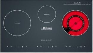 Bếp điện từ Binova BI 339DT: Luôn đồng hành cùng người nội trợ