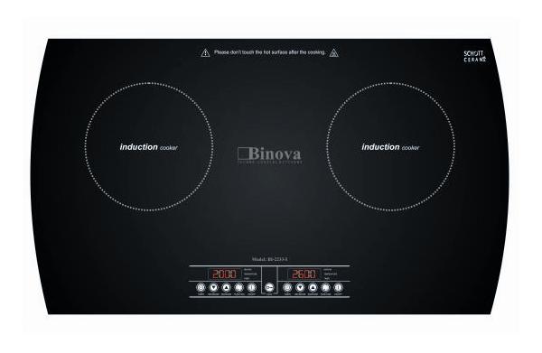 Bếp từ Binova BI 2233I vượt trội với từng tính năng