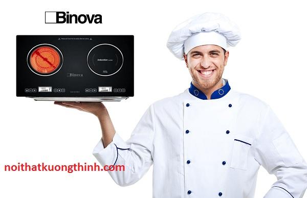 Bếp điện từ Binova đẳng cấp của không gian nhà bếp