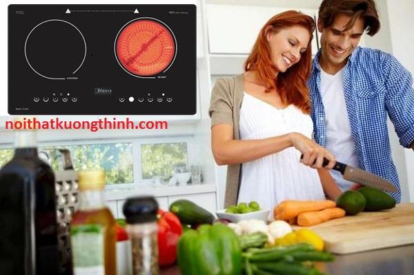 Bếp điện từ Binova tuyệt tác nhà bếp