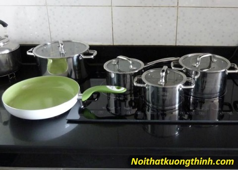 Tư vấn bếp từ Canzy nên dùng nồi gì?