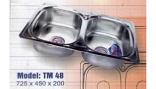 Chậu rửa bát Tân Mỹ TM 48