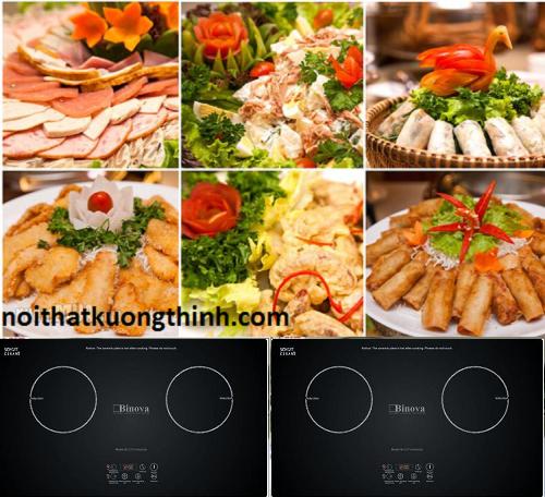 Ngắm bếp từ Binova tuyệt đẹp đến từ Italy