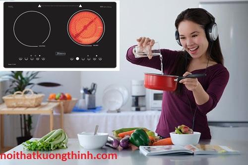 Sử dụng Bếp điện từ Binova có tiết kiệm không?