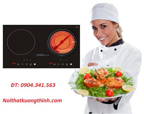 Bếp điện từ Binova sức cuốn hút không thể chối từ