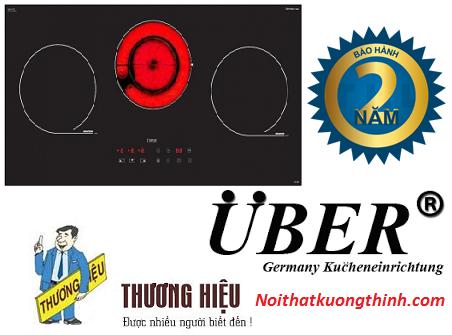 Bếp điện từ Uber 2V800 sản phẩm cao cấp đến từ Châu Âu
