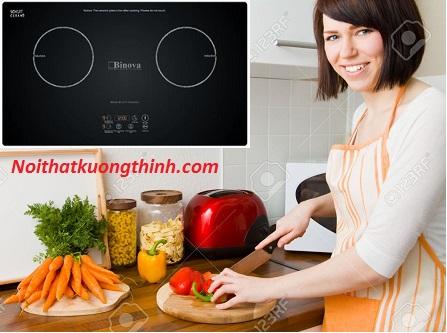 Bếp từ Binova lựa chọn của người phụ nữ thông minh