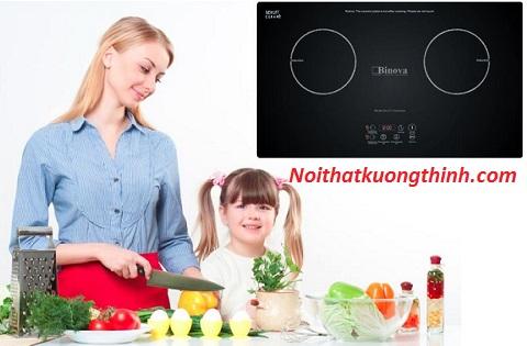 Bếp từ Binova sản phẩm chiếm trọn tình cảm của người tiêu dùng