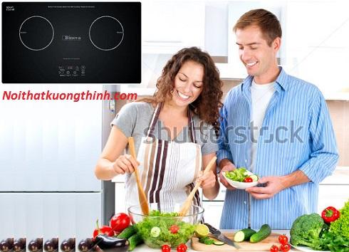 Bếp từ Binova giải pháp nấu nướng của người phụ nữ bận rộn