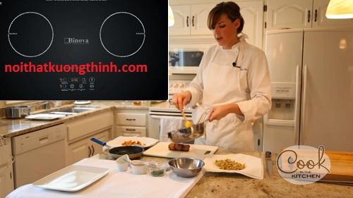 Bếp từ Binova cao cấp lộ thông số kỹ thuật