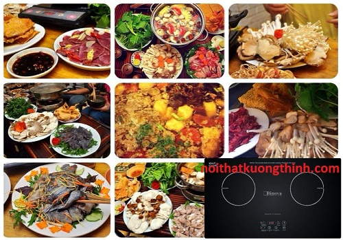 Bếp từ Binova đỉnh cao của công nghệ