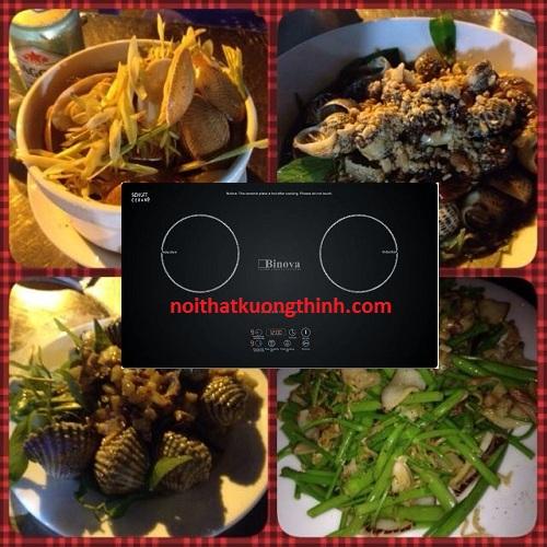Bếp từ Binova khiến người dùng mê mẩn