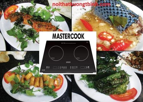 Bếp từ Mastercook trợ thủ đắc lực của các bà nội trợ