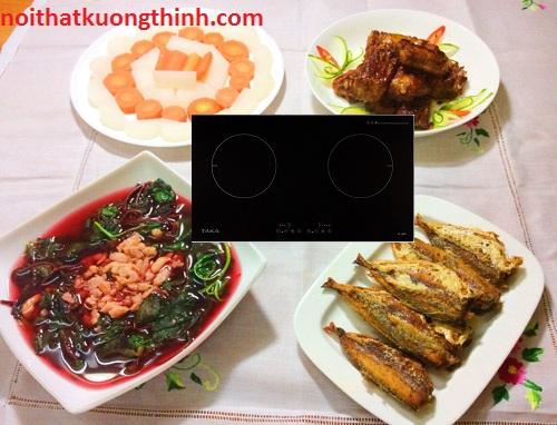 Khám phá lợi ích tuyệt vời của bếp từ Taka