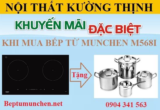 Bếp từ Munchen M568I khuyến mại lớn chào hè 2017