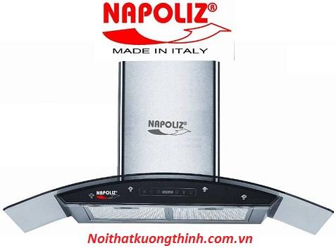 Việc khử khói, khử mùi giờ đây thật đơn giản với máy hút mùi Napoliz NA 90K+