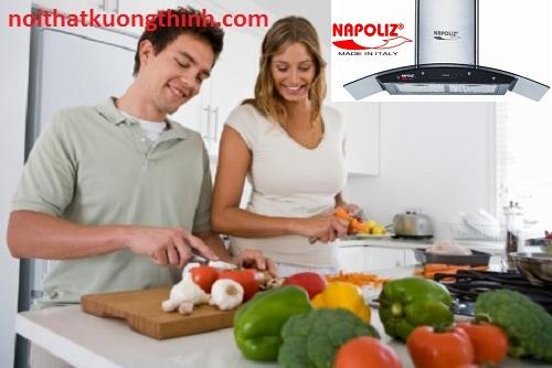 Máy hút mùi Napoliz NA 75K+ nổi trội trên từng tính năng